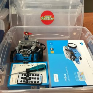4 Weeks | Wednesdays | 6/9/21-6/30/21 | 6-7 pm EST | Arduino LEGO Robot (add robot at checkout if needed)
